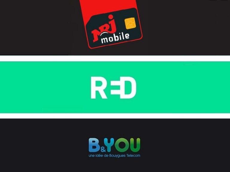 B&You, RED by SFR ou NRJ Mobile : lequel de ces forfaits sans engagement à 10 euros faut-il choisir ?