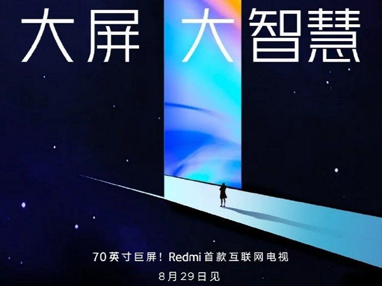 Xiaomi devrait présenter un téléviseur de 70 pouces la semaine prochaine
