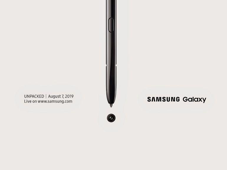 Samsung Galaxy Note 10 et Note 10+ : comment suivre l'événement Unpacked en direct ?