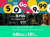 RED by SFR, B&You et Sosh : quel forfait mobile à 10 euros choisir cette semaine ?