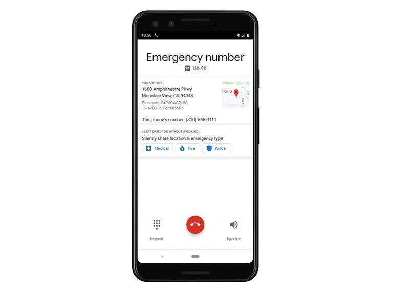 Google : une fonctionnalité pour aider les victimes à contacter les urgences