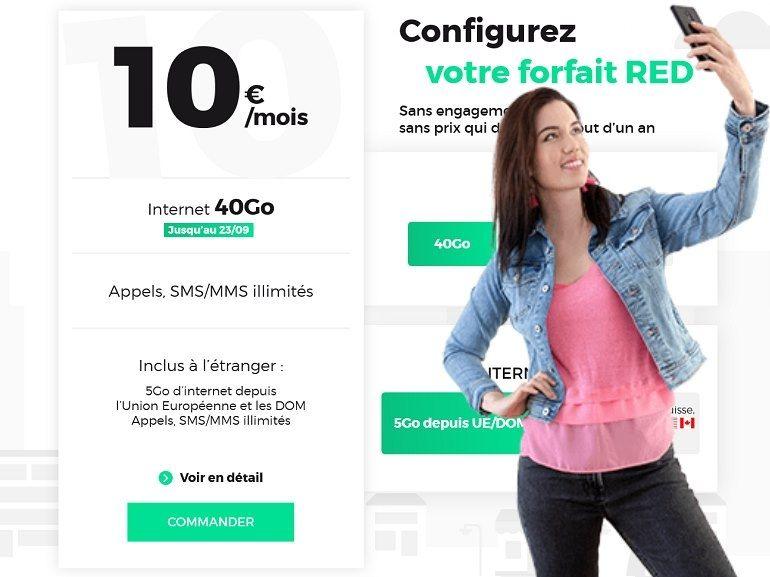 RED by SFR : les vrais bons plans forfaits mobile et fixe du week-end