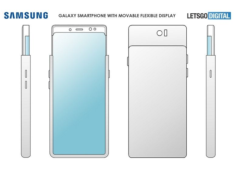 """Samsung : un smartphone avec un écran enroulable et """"extensible"""" dans les cartons ?"""