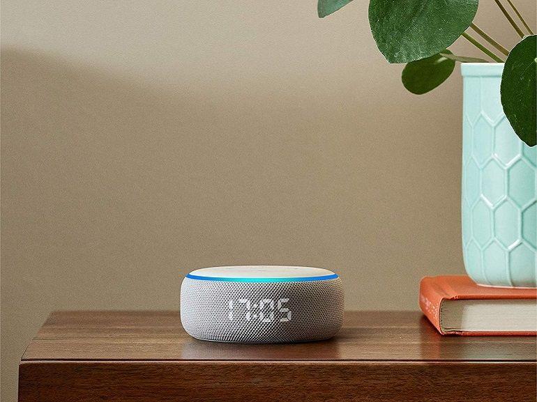 Amazon annonce une nouvelle Echo Dot avec horloge LED à 69,99€