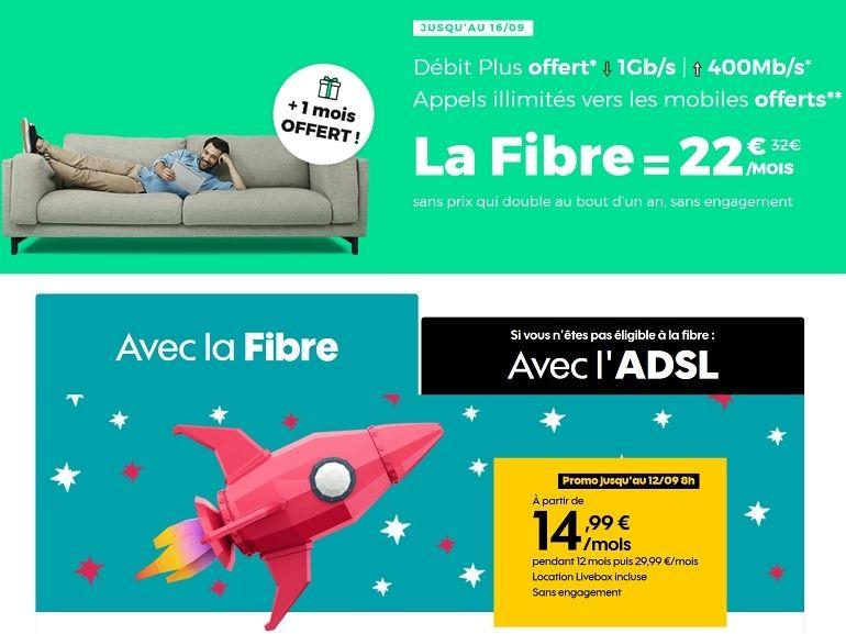 Sosh vs. RED SFR : quelle est la meilleure offre box Internet fibre actuellement ?