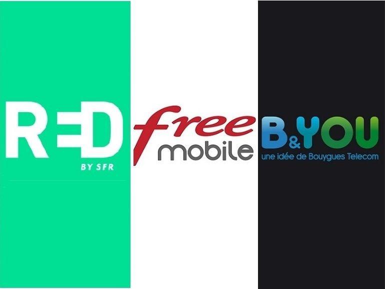 Free Mobile, RED by SFR ou B&You : quel forfait mobile à 10€ choisir avant demain ?