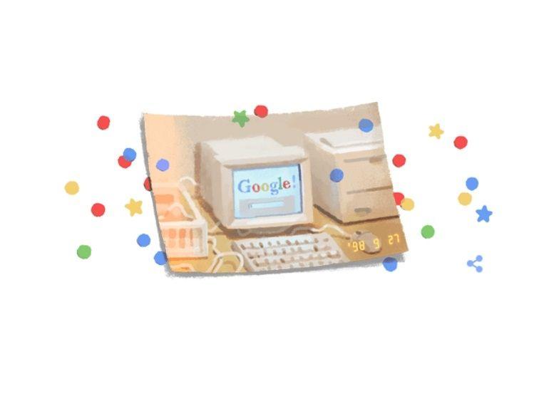 Google fête ses 21 ans avec un nouveau Doodle