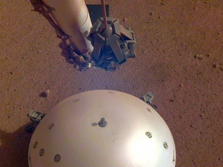 """La Nasa a enregistré """"les battements du cœur"""" de Mars et c'est impressionnant"""