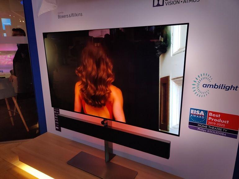 IFA 2019 : Philips dévoile deux nouveaux téléviseurs OLED+