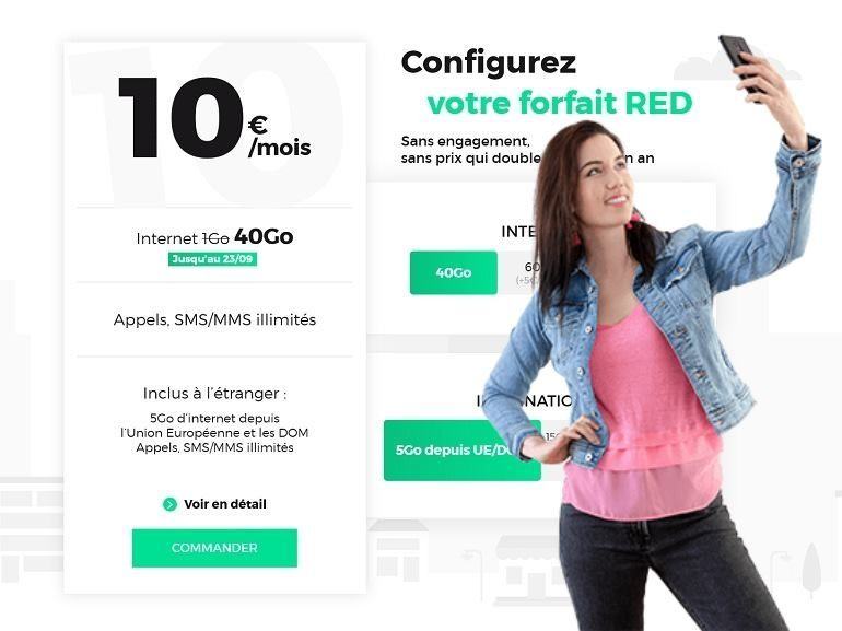 RED by SFR : les vrais bons plans forfaits mobile et Box Internet
