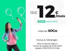 RED by SFR en mode French Days avec un forfait 60 Go à 12€