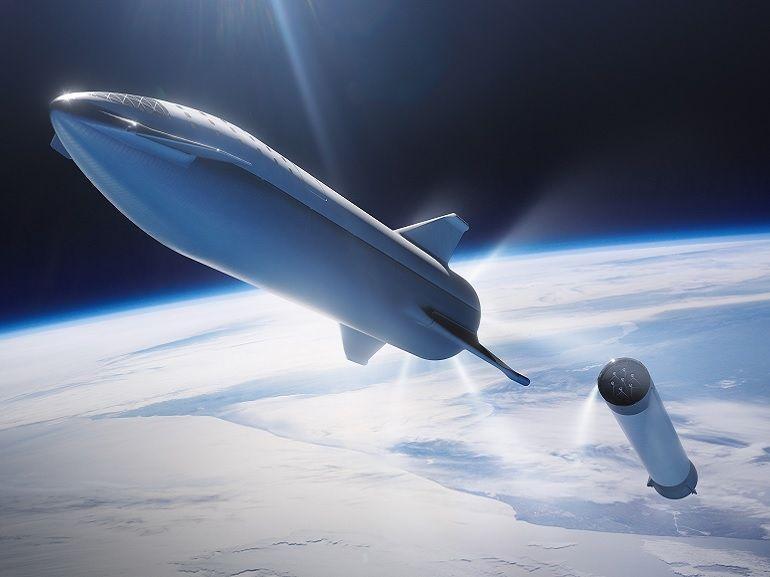 SpaceX veut mettre son vaisseau Starship (qui ira sur Mars) en orbite dans 6 mois