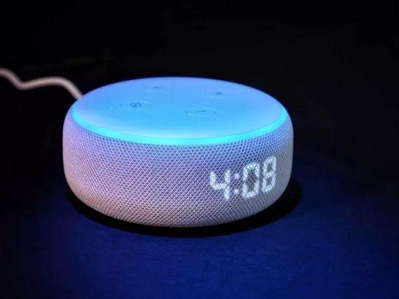 Test de l'Amazon Echo Dot (3ème génération) avec horloge