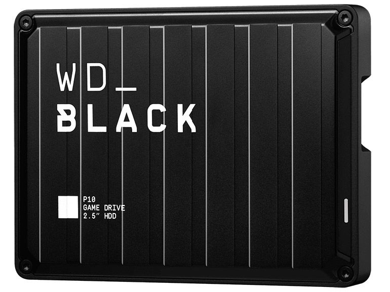 Test du disque dur externe Western Digital WD_Black P10 5 To pour les gamers