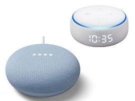 Google Nest Mini vs (nouvel) Amazon Echo Dot : quelles sont (vraiment) les nouveautés ?