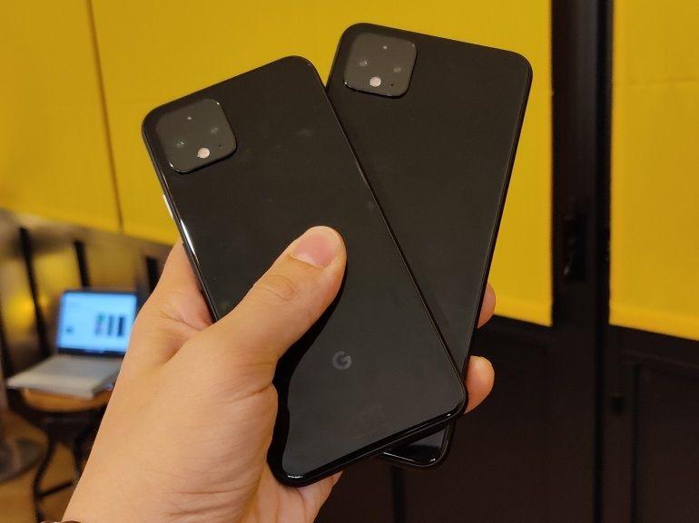 Les Google Pixel 4 et Pixel 4 XL sont officiels : notre première prise en main