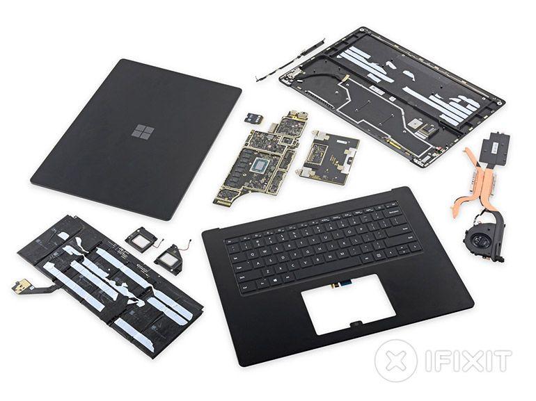Surface Laptop 3 : l'ordinateur offre de meilleures possibilités de réparation