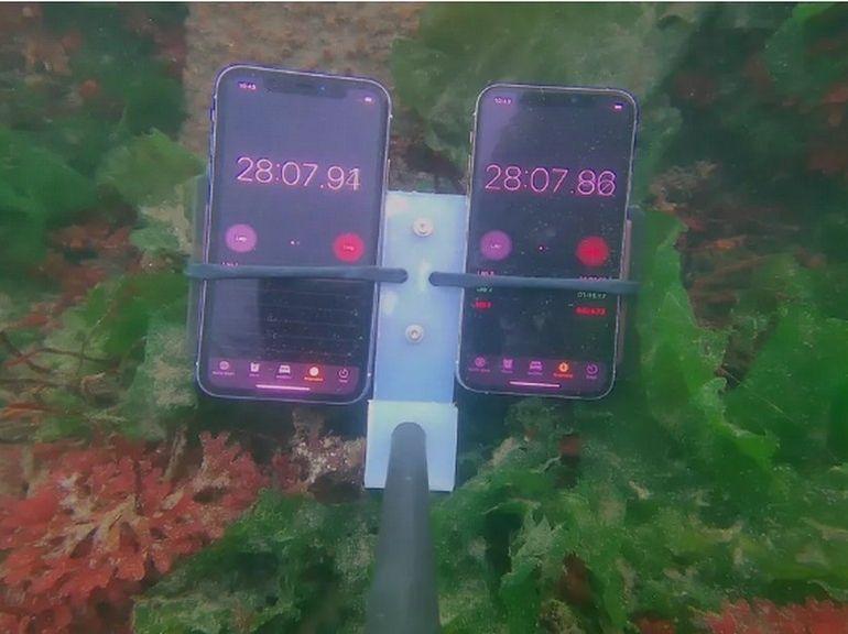 Test étanchéité iPhone 11 et iPhone 11 Pro : on a essayé de les noyer, ça n'a pas marché