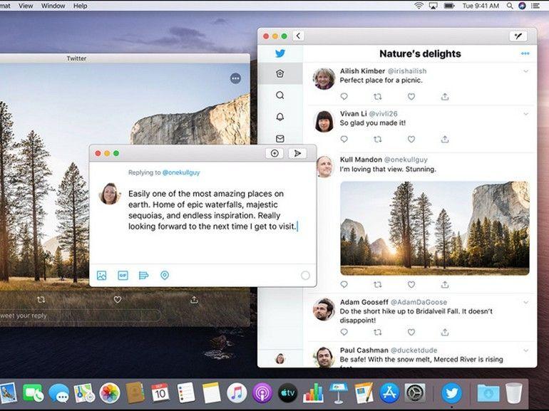 Twitter de retour sur Mac grâce à Catalyst
