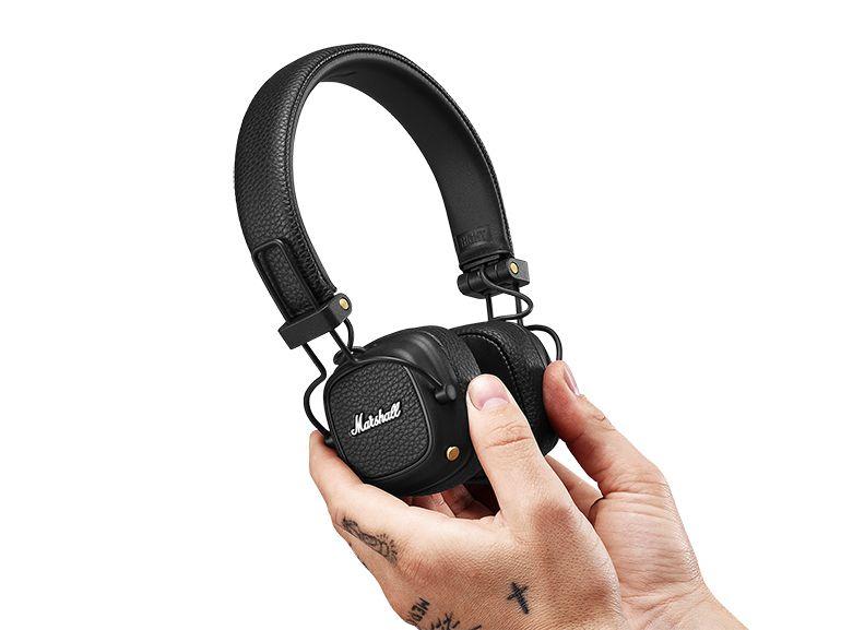 Marshall Major III Voice : un casque sans fil avec Google Assistant et 60h d'autonomie