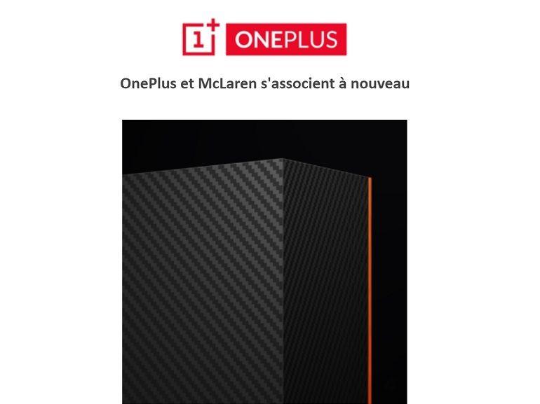 OnePlus 7T Pro : une version McLaren en préparation