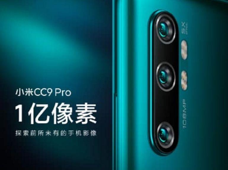 Mi CC9 Pro : face au Reno 2, Xiaomi dégaine un smartphone armé d'un capteur de 108 Mpx