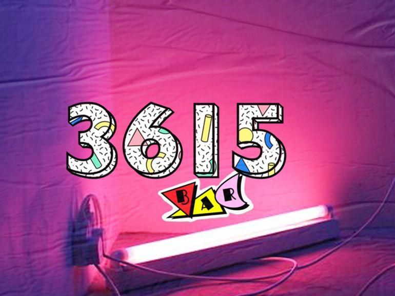 Idée de sortie à Paris : le 3615, le bar éphémère en hommage aux années 80