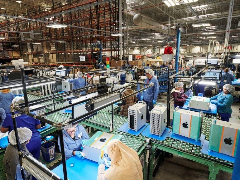 Tim Cook fait visiter à Donald Trump son usine du Texas qui fabrique le Mac Pro