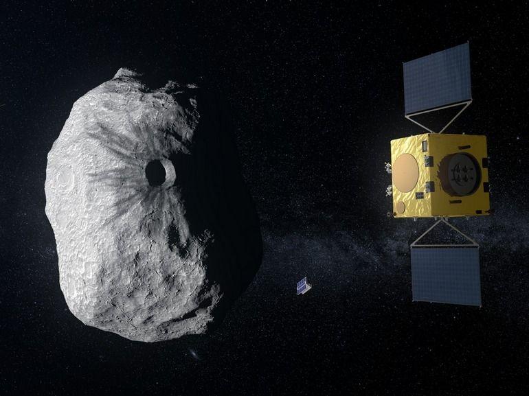 Feu vert pour la mission Hera, le programme de défense de la Terre contre les astéroïdes