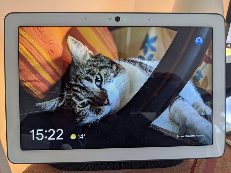 Test de Google Nest Hub Max : l'écran qui voit grand et voit tout