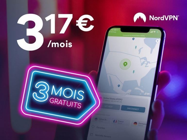 Black Friday NordVPN: 3 mois gratuits et l'app NordLocker offerte !