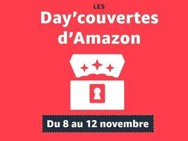 Amazon Day'couvertes (pré Black Friday) : sélection des bons plans encore en ligne