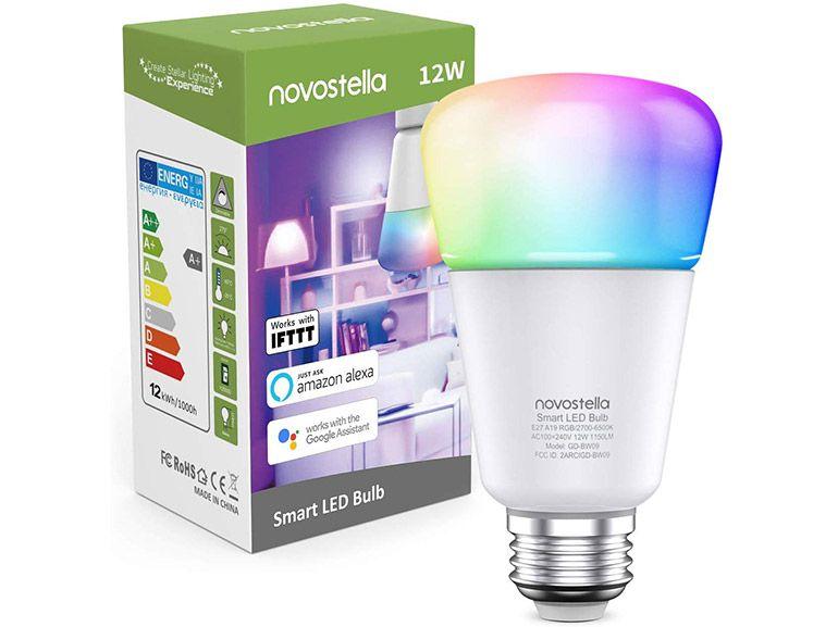 Bon plan : une ampoule connectée et colorée Alexa et Google Home à 14,99€ (-50%)