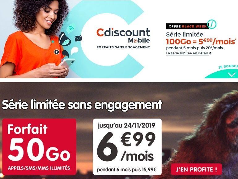 Forfait mobile : Cdiscount vs NRJ, quelle est la meilleure offre à moins de 7 euros ?