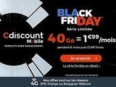 Forfait mobile : que vaut l'offre 40 Go à 1,99 € de Cdiscount Mobile ?