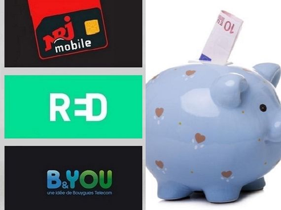 Forfait mobile en promo : RED by SFR, B&You ou NRJ Mobile, en refait le match