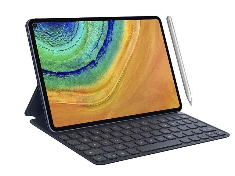 Huawei MatePad Pro : un écran percé qui recouvre 90% de la surface de cette tablette