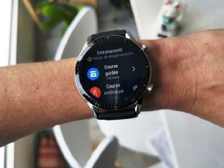 Test de la Huawei Watch GT 2 : une montre connectée chic et sport à prix choc