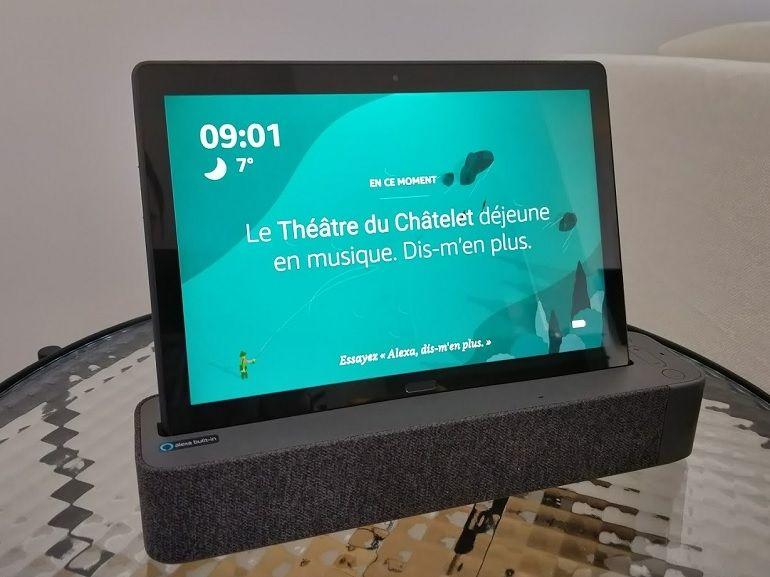 Test Lenovo Smart Tab P10 : notre avis - CNET France