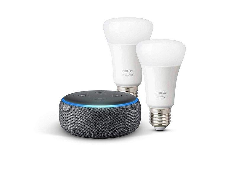 Bon plan : le pack Echo Dot + ampoule LED Philips HUE à 36,99€ au lieu de 89,94 sur Amazon