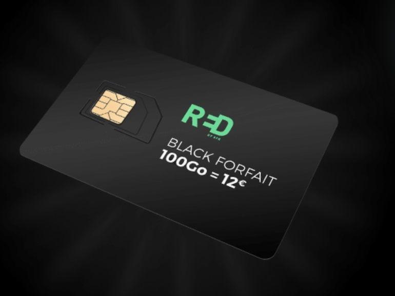 100 Go pour 12 € : le forfait de RED by SFR est en mode Black Friday et ça donne la meilleure promo de l'année