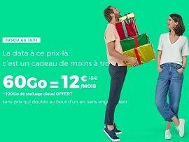 Forfait mobile : RED SFR prolonge son forfait mobile 60 Go à 12 €