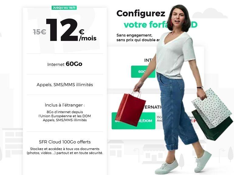 RED by SFR : les bons plans forfait mobile et box Internet de la semaine