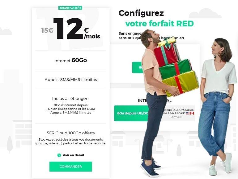 RED by SFR : des bons plans canons côté forfait mobile et box Internet Fibre