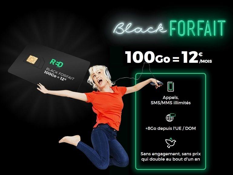 RED by SFR : les bons plans forfait mobile et box Fibre immanquables du Black Friday