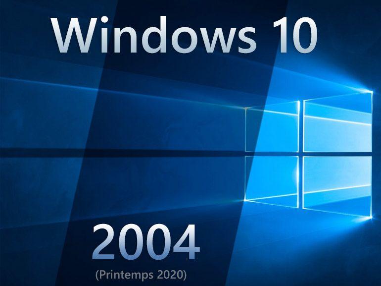 Windows 10 : un PC sur quatre tourne déjà sous la version 2004