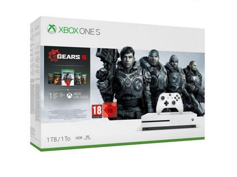 Bon plan : le pack Xbox One S, (1 To) Gears 5 à 179,99€ chez la fnac [-40%]