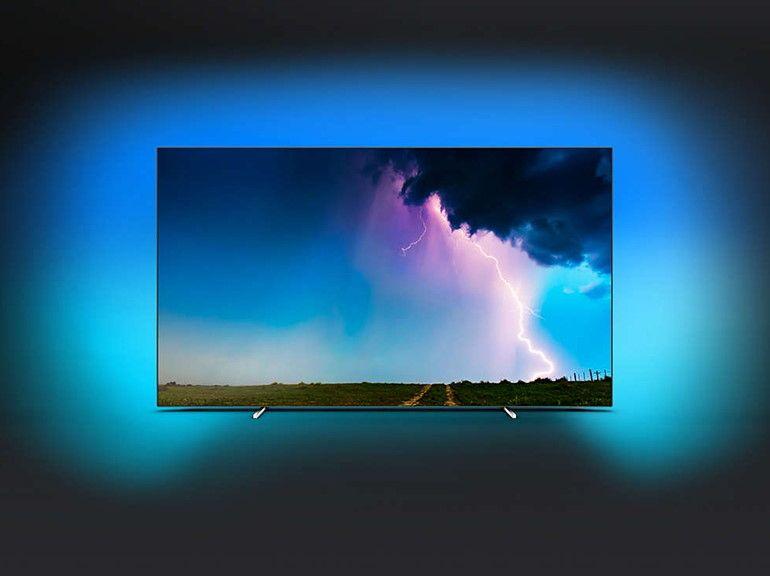 Bon plan Darty : le téléviseur Philips 65OLED754 (Oled 4K 165 cm) à seulement 1699 euros