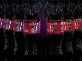 Star Wars : cette bouteille de Coca Cola arbore un sabre laser qui s'allume pour de vrai !