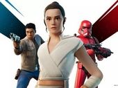 Fortnite en mode Star Wars : L'Ascension de Skywalker avec des skins Rey et Finn